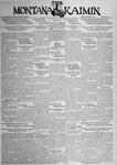 The Montana Kaimin, November 9, 1934