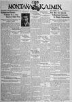 The Montana Kaimin, November 16, 1934