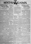 The Montana Kaimin, November 23, 1934