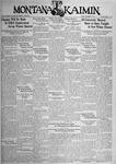 The Montana Kaimin, December 7, 1934