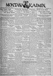 The Montana Kaimin, January 25, 1935