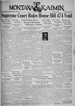 The Montana Kaimin, May 28, 1935