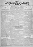 The Montana Kaimin, October 1, 1935