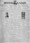 The Montana Kaimin, December 6, 1935