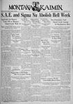 The Montana Kaimin, January 21, 1936