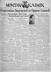 The Montana Kaimin, March 3, 1936