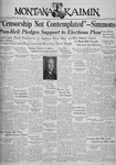 The Montana Kaimin, April 7, 1936