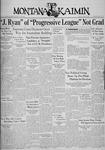 The Montana Kaimin, April 10, 1936