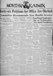 The Montana Kaimin, April 24, 1936