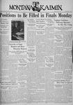 The Montana Kaimin, May 1, 1936