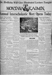 The Montana Kaimin, May 13, 1936