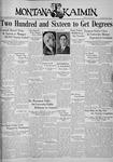 The Montana Kaimin, May 29, 1936