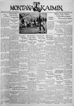 The Montana Kaimin, October 20, 1936