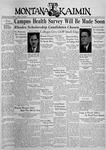 The Montana Kaimin, November 3, 1936