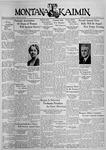 The Montana Kaimin, November 6, 1936