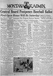 The Montana Kaimin, November 10, 1936