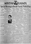 The Montana Kaimin, January 5, 1937