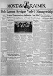 The Montana Kaimin, January 8, 1937