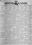 The Montana Kaimin, January 12, 1937