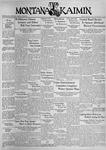 The Montana Kaimin, January 15, 1937