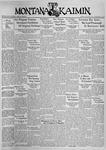 The Montana Kaimin, January 19, 1937