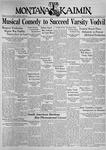 The Montana Kaimin, January 22, 1937