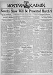 The Montana Kaimin, January 26, 1937