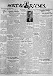 The Montana Kaimin, February 2, 1937