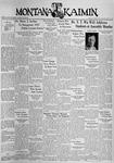 The Montana Kaimin, March 2, 1937