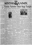 The Montana Kaimin, March 9, 1937