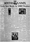 The Montana Kaimin, April 9, 1937