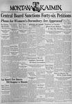 The Montana Kaimin, April 16, 1937