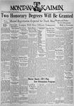 The Montana Kaimin, May 4, 1937