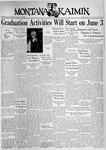 The Montana Kaimin, May 25, 1937