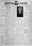 The Montana Kaimin, May 28, 1937