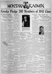 The Montana Kaimin, September 28, 1937