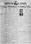 The Montana Kaimin, October 5, 1937