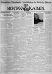 The Montana Kaimin, October 22, 1937
