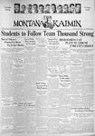 The Montana Kaimin, October 29, 1937