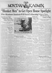 The Montana Kaimin, November 2, 1937