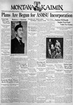 The Montana Kaimin, November 9, 1937