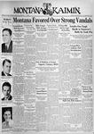 The Montana Kaimin, November 19, 1937
