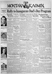 The Montana Kaimin, November 23, 1937