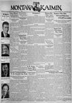 The Montana Kaimin, December 3, 1937