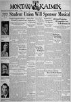 The Montana Kaimin, January 11, 1938