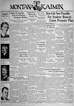 The Montana Kaimin, January 28, 1938