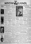 The Montana Kaimin, March 8, 1938