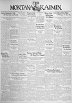 The Montana Kaimin, April 1, 1938