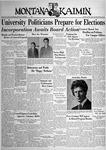 The Montana Kaimin, April 8, 1938