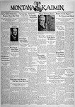The Montana Kaimin, April 12, 1938